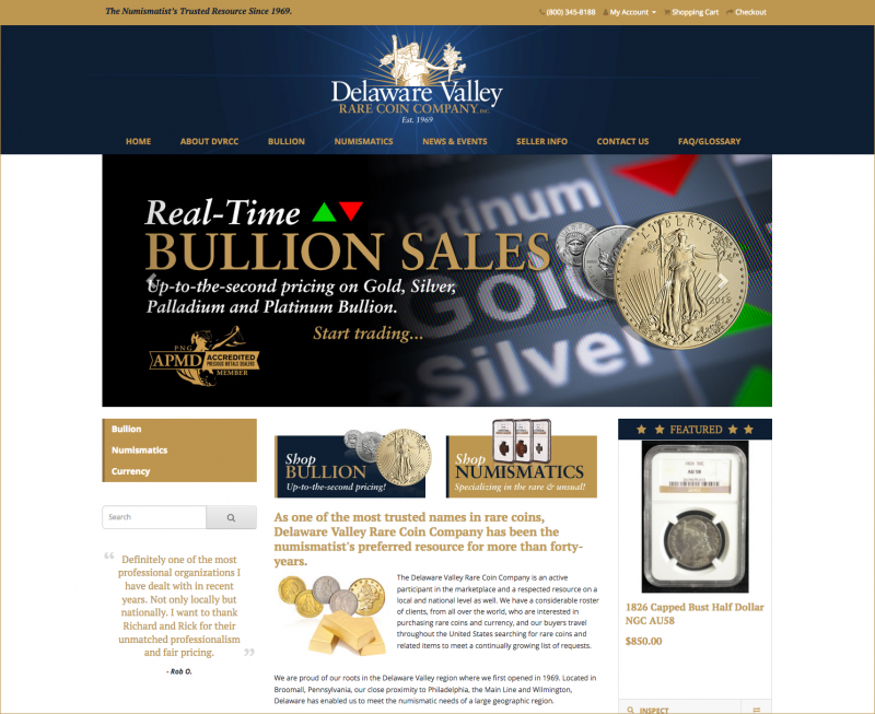 Delaware Valley Rare Coin Co., Inc.