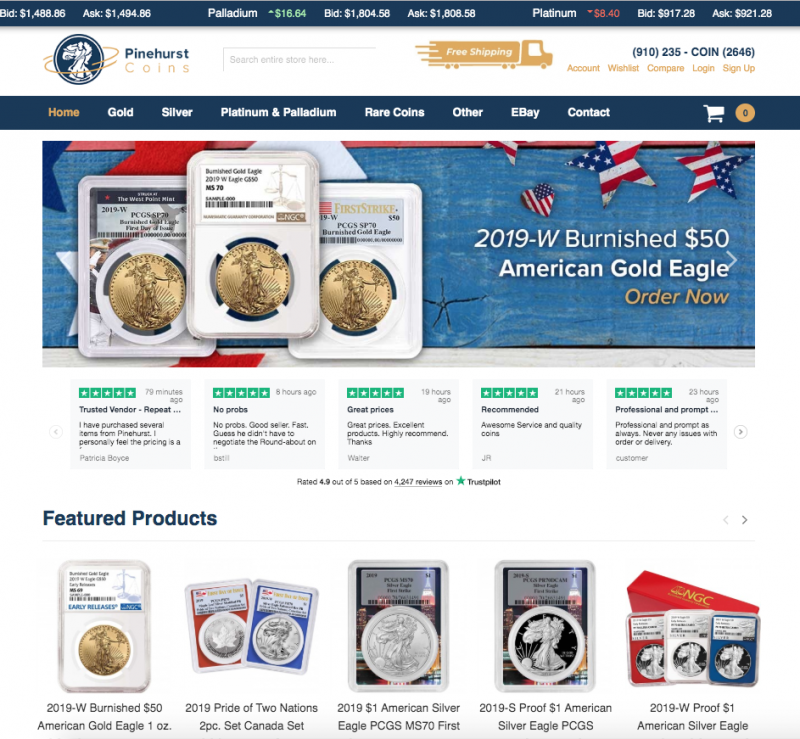 Pinehurst Coin Exchange, Inc.